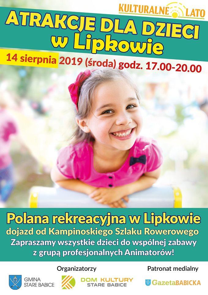 Atrakcje dla dzieci w Lipkowie