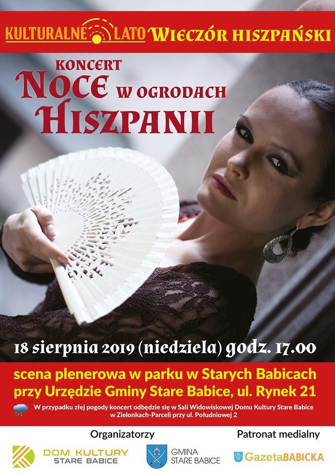 koncert noce w ogrodach hiszpanii